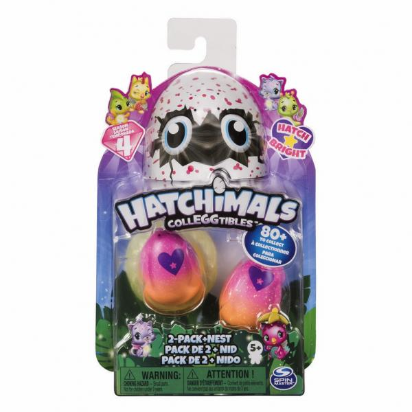 HATCHIMALS Collezionabili 2 Pack Ass.to S4