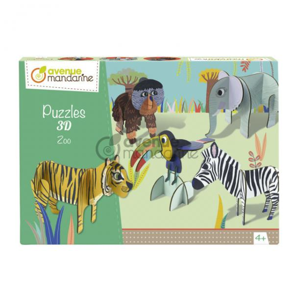 Puzzle in 3D - Lo Zoo