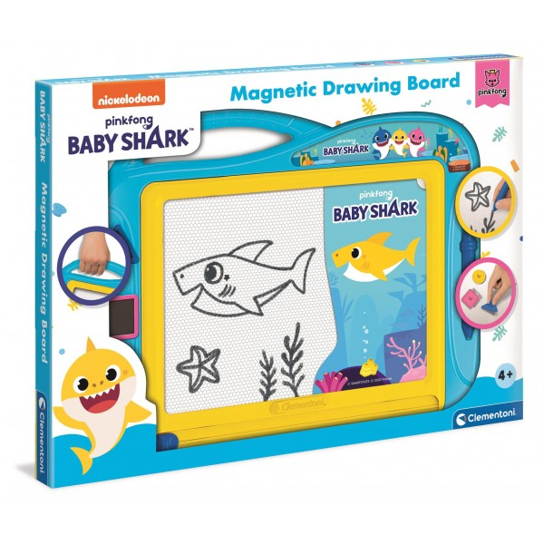 Baby Shark - Lavagna magnetica