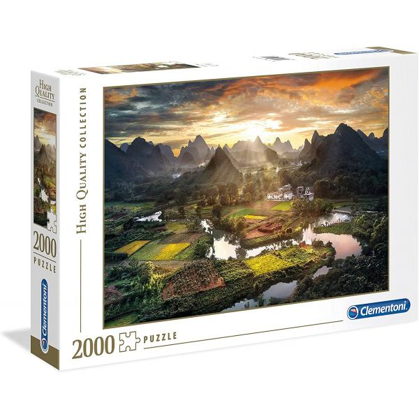 Puzzle da 2000 pezzi - High Quality Collection: View of China