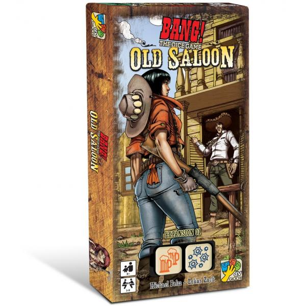 BANG! - The Dice Game - Old Saloon