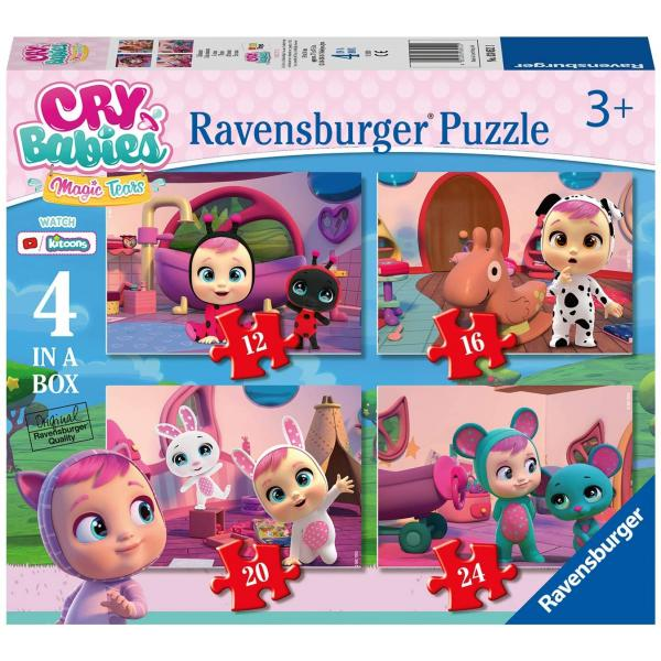 Puzzle 4 in 1 - Cry Babies