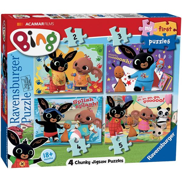 My First Puzzles: Puzzle 4 in 1 - Bing