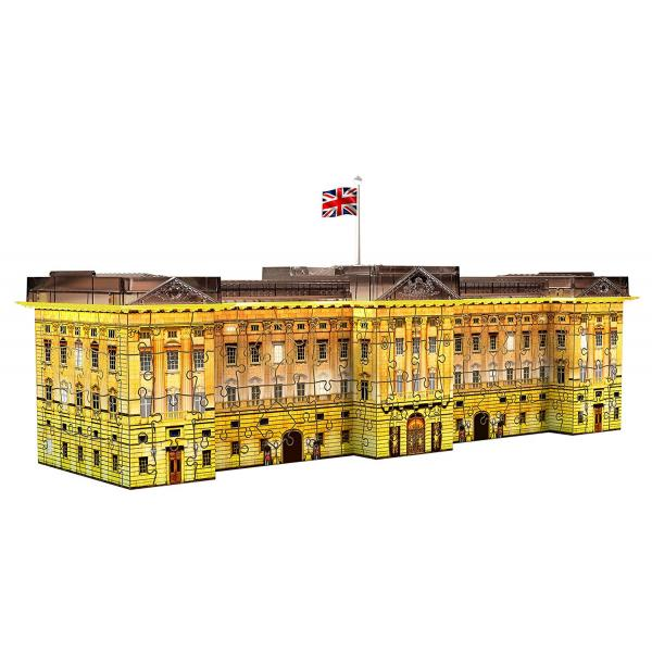 Puzzle 3D Serie Speciali - Buckingham Palace Night Edition