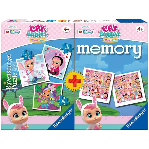 Multipack memory + 3 puzzle - Cry Babies