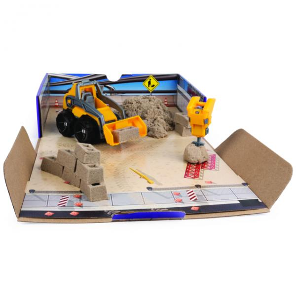 KINETIC SAND Cantiere con Veicolo 2 in 1