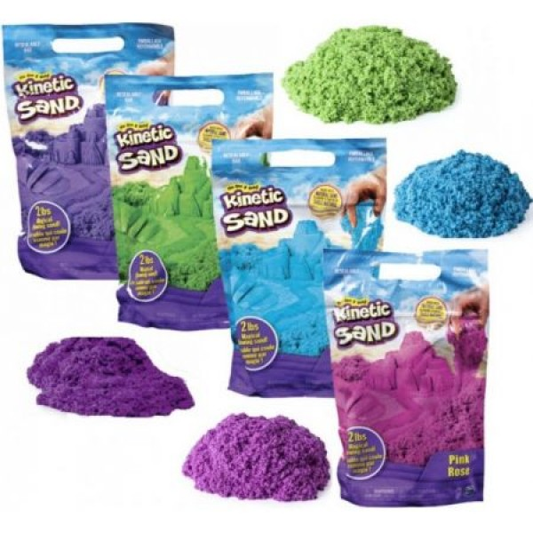 KINETIC SAND Sacchetto Sabbie Colorate Ass.to