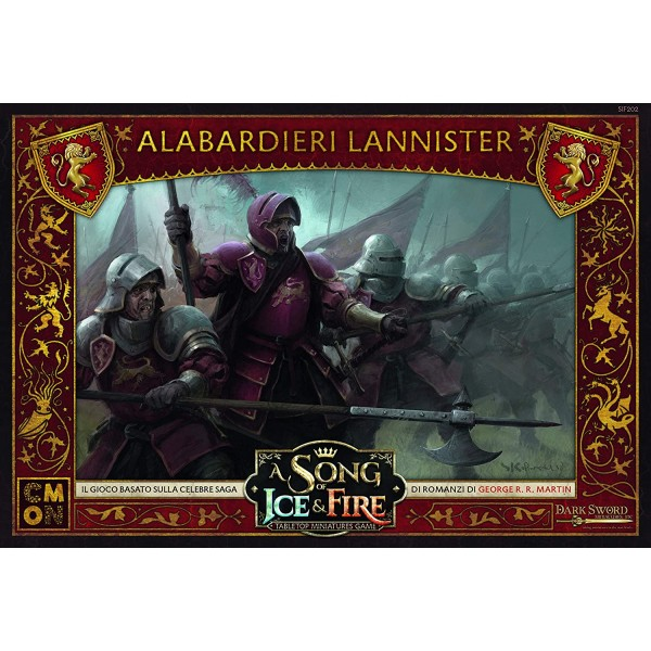 A Song of Ice and Fire - Alabardieri Lannister