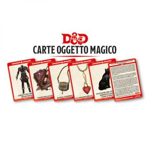 Dungeons & Dragons - Carte Oggetto Magico, D&D 5.0