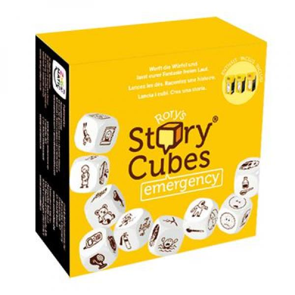 Rorys Story Cubes - Emergency (Giallo)