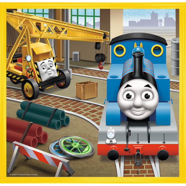 Puzzle - 3 in 1 - Thomas goes  in to action / Thomas and Friends