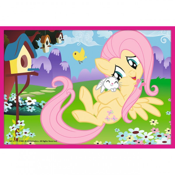 Puzzle - 10 in 1 - Ponies magical world / Hasbro, My Little Pony
